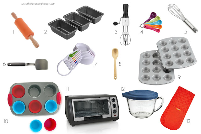 Montessori Home -- our children's baking essentials. Tools to help independent baking.