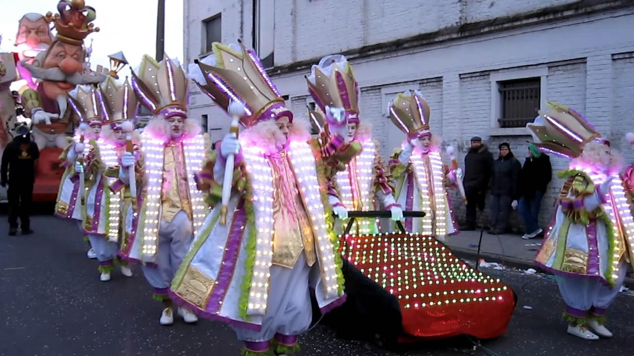 Carnaval Aalst foto- en videoblog: Bedesterd, nummer één na slechts ...