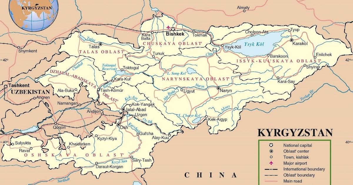 Kyrgyzstan Map - Car Radio | GPS