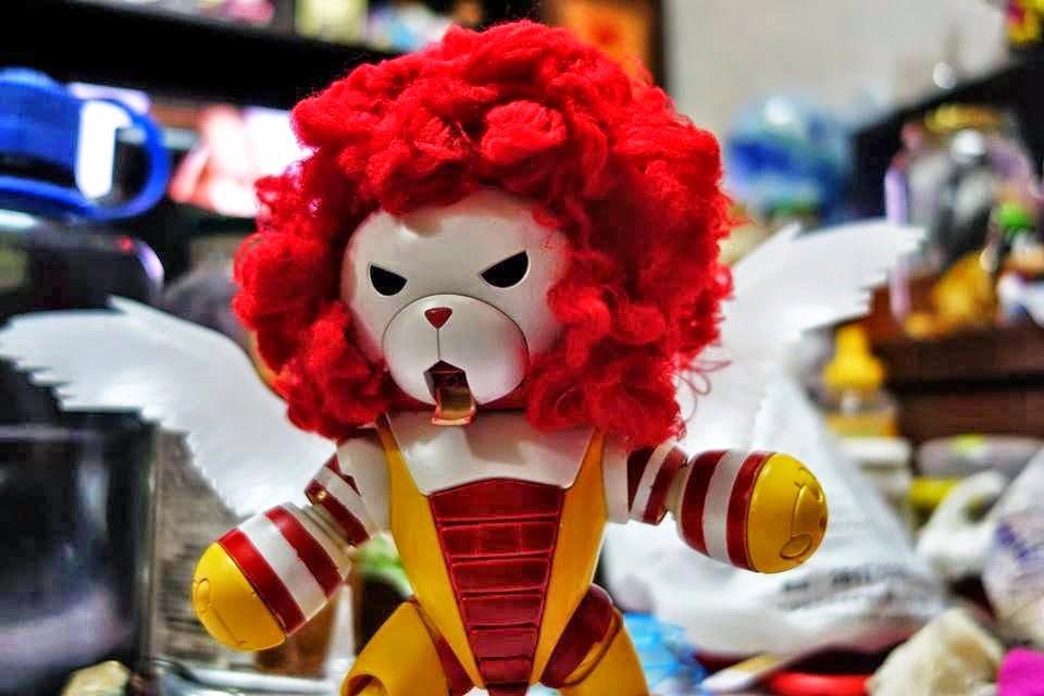 Beargguy III collaboration with Ronald McDonald!