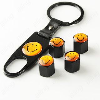 Onesoul Auto Accessories Anti Theft Tire Air Valve Caps