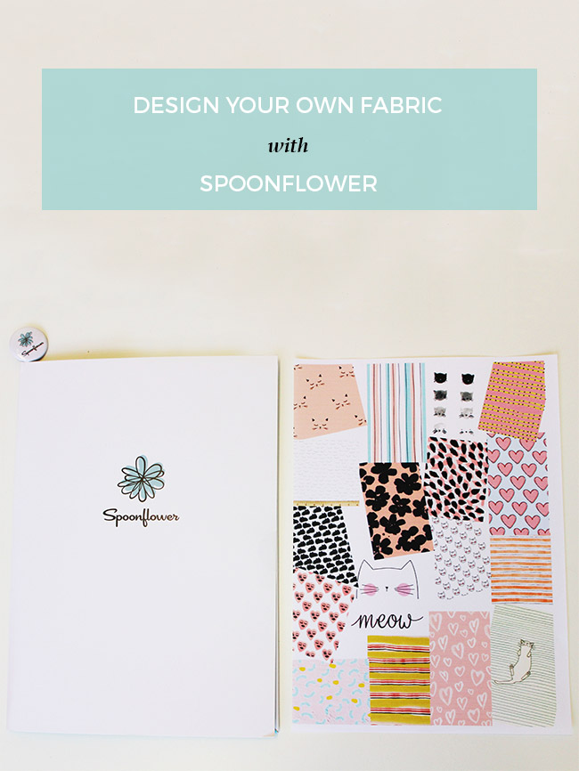 Designing your own fabric with Spoonflower - by Tilly and the Buttons