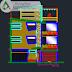 مشروع تجاري   عمارة سكنية متعددة الطوابق multifamily اوتوكاد dwg