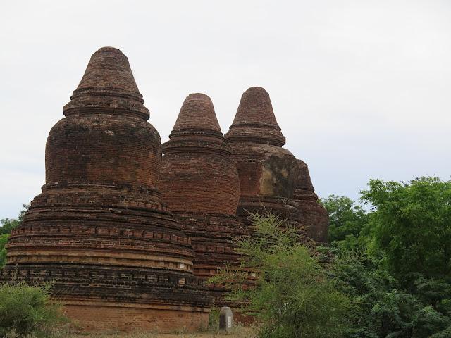Estupas de Bagán