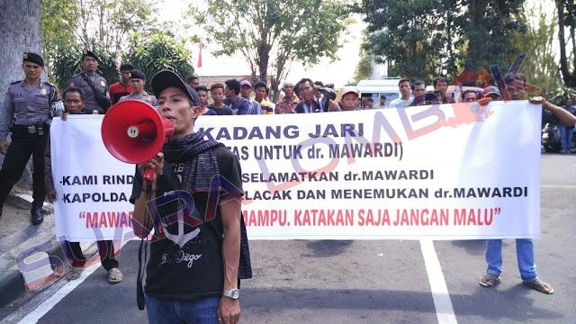 Soal Hilangnya dr. Mawardi, Kadang Jari Heran IDI Diam