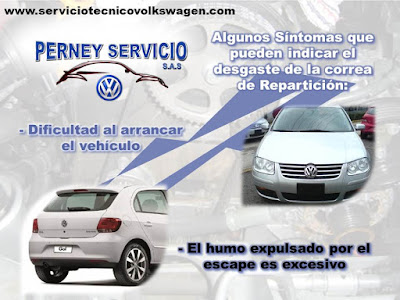 Servicio de Cambio de Correa de Reparticion VW