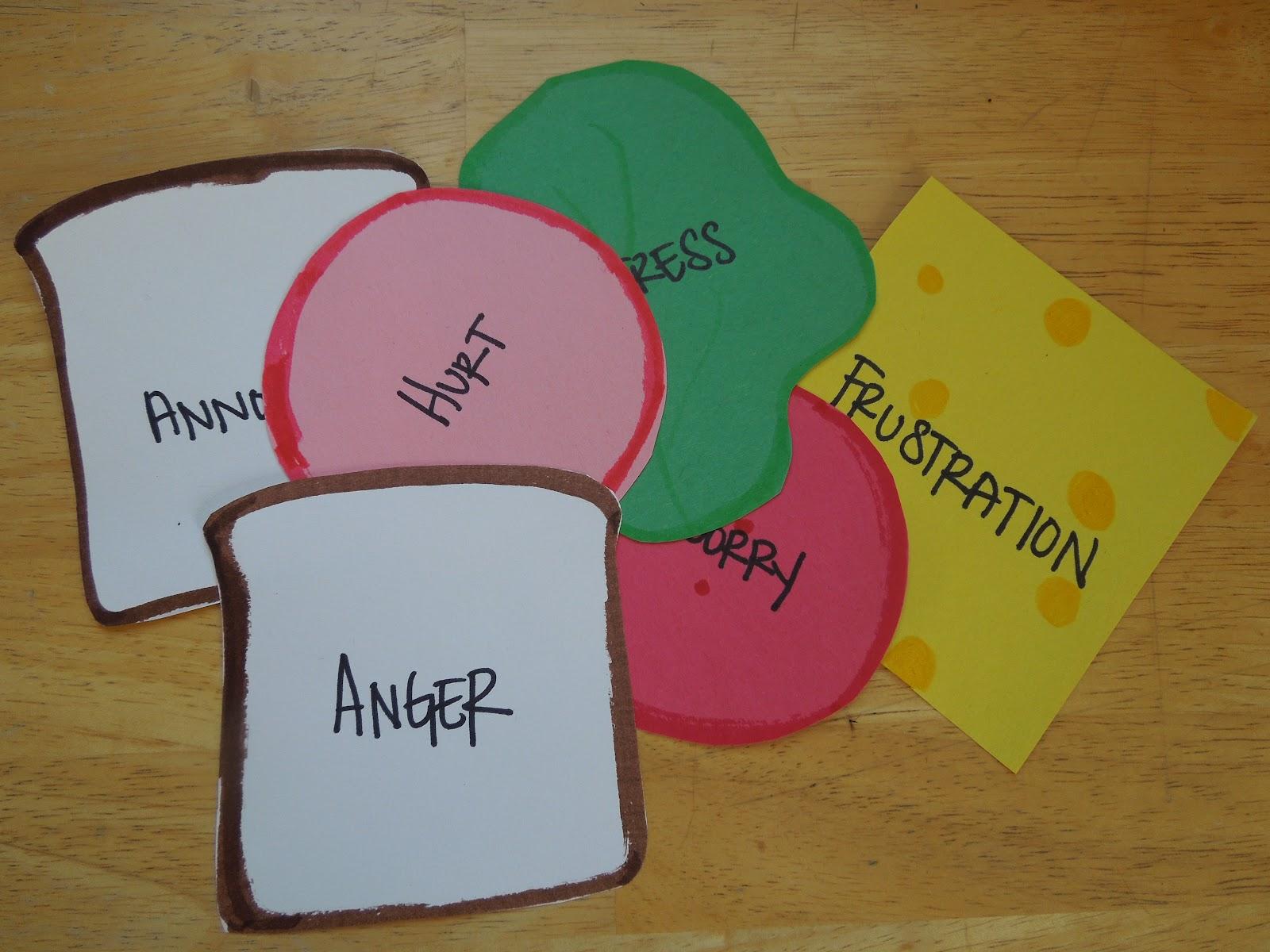 Behavioral Interventions For Kids Anger Sandwiches