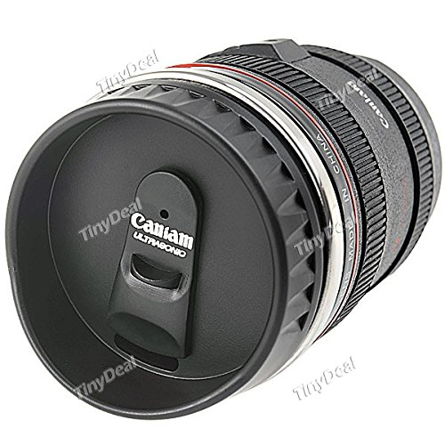Camera Lens Style EF 24-105mm Lens Coffee Mug3