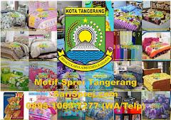 Motif Sprei Tangerang