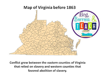 Virginia Studies SOL review: Abolitionist and Formation of West Virginia