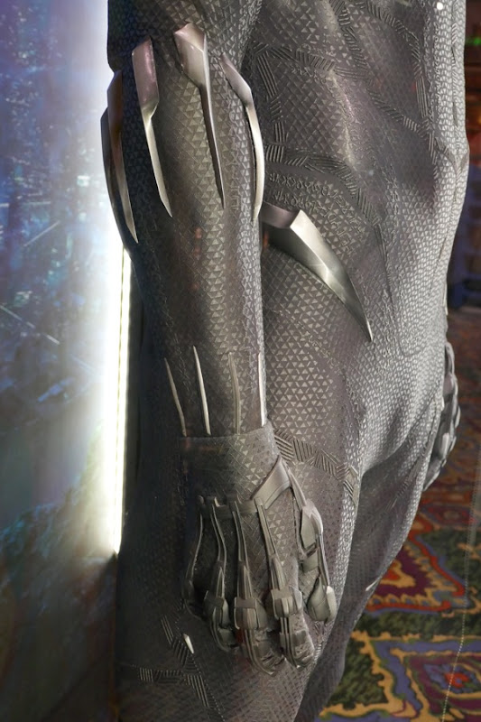 Black Panther claws costume detail