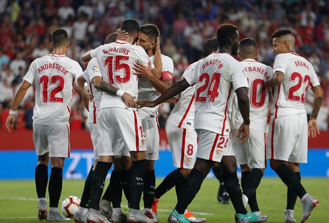 Crónica Sevilla FC 3 - Sigma Olomouc 0