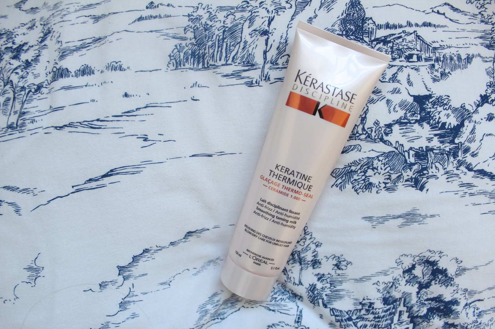 kirstie pickering hair hairstyle hair treatment heat protect kerastase keratine thermique thermo-seal smoothing taming milk review tried and tested beauty bblogger bbloggers instagram potd ikea twitter