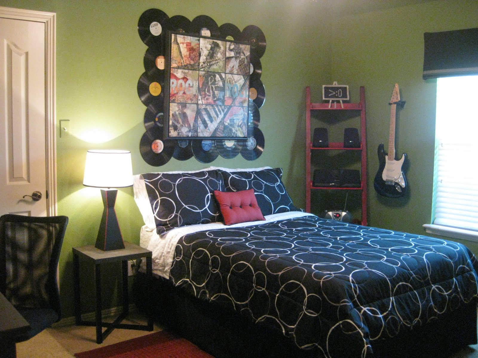 Rock And Roll Themed Room Kristen 39s Creations Chase 39s Rock N Roll Bedroom