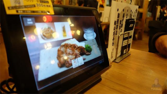 Order Makanan dengan Tablet