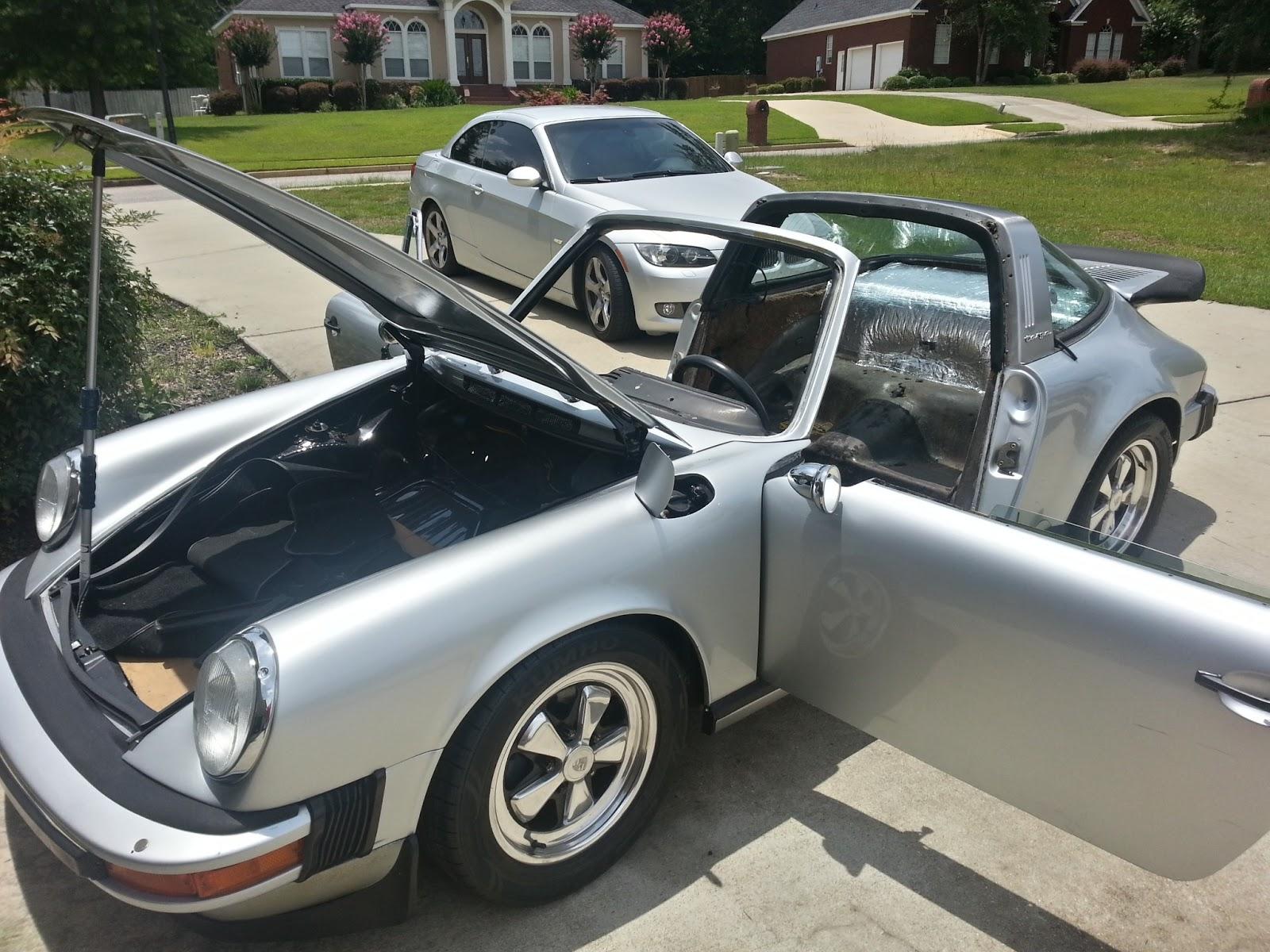 1975 Porsche 911 Targa Rebuild June 2013