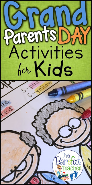 Grandparents Day activities for kids kindergarten