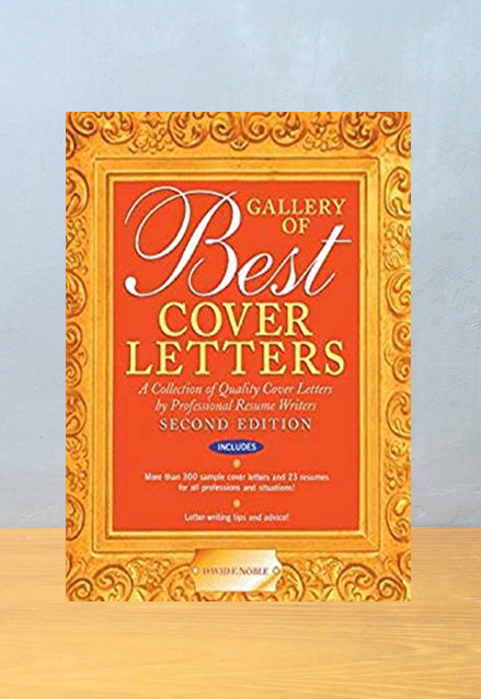 GALLERY OF BEST COVER LETTERS, David F. Noble