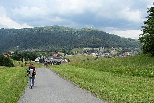 Zejście do Donovaly.