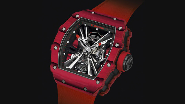 Richard Mille RM 12-01 Tourbillon Red Quartz TPT