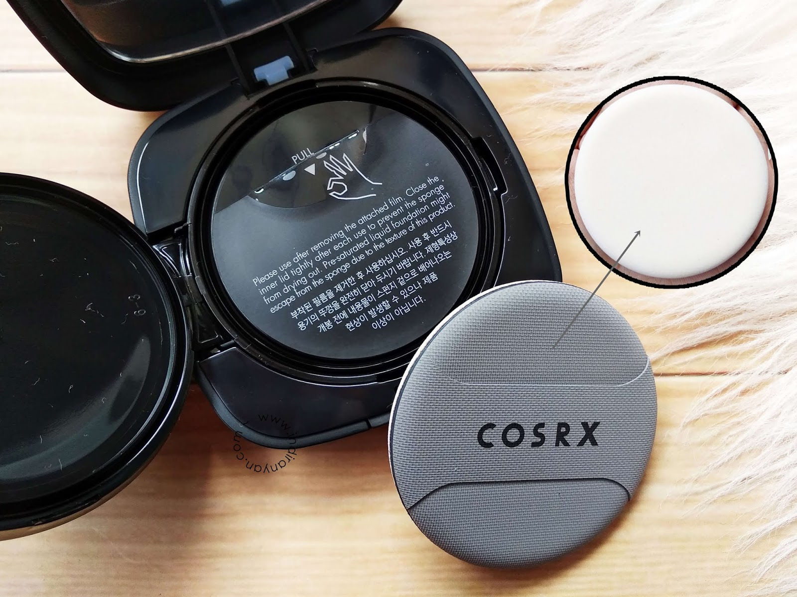 cosrx-blemish-cover-cushion, review-cushion-cosrx