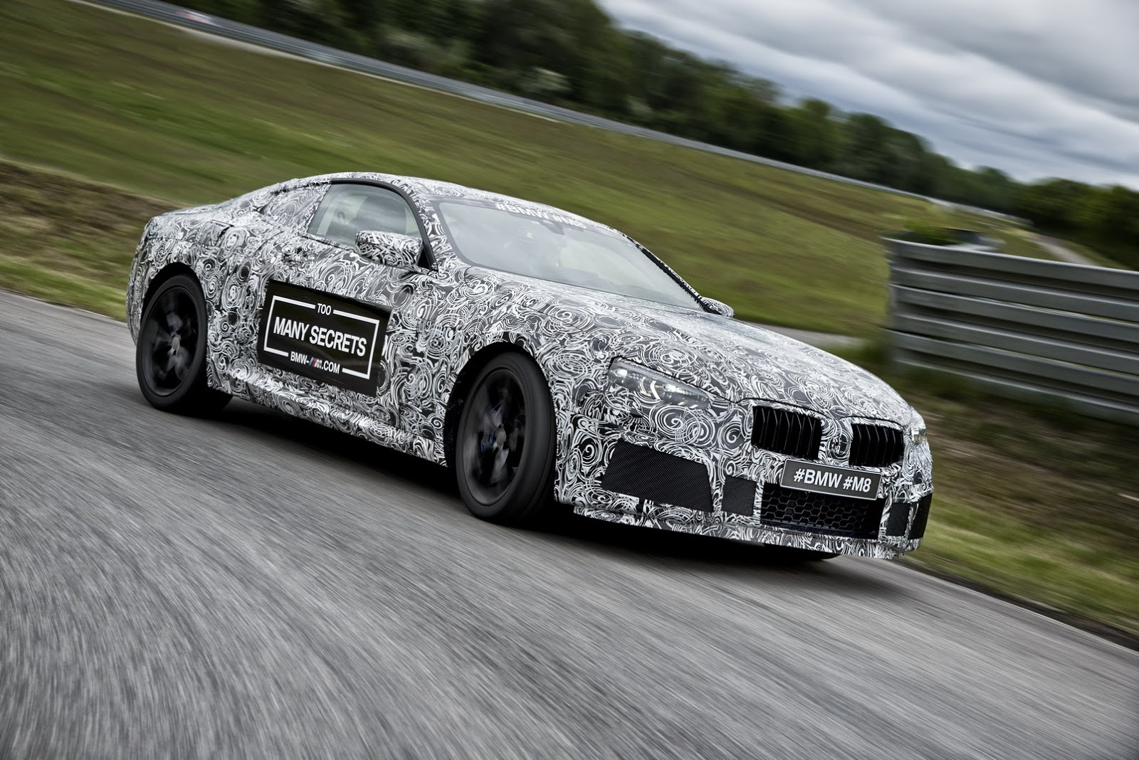 it s official a bmw m8 is happening and this is it carscoops. Black Bedroom Furniture Sets. Home Design Ideas