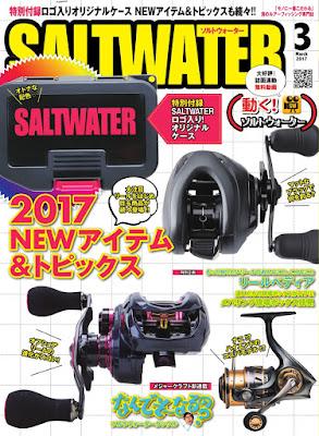 SALTWATER(ソルトウォーター) 2017年03月号 raw zip dl
