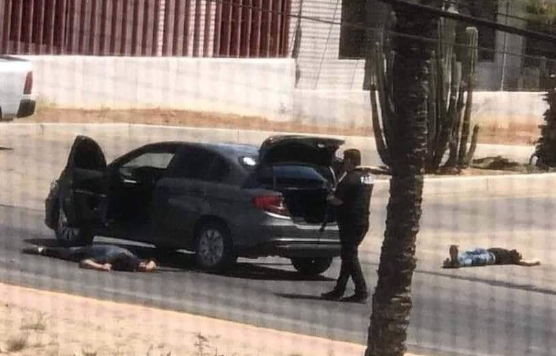 """Imagenes del enfrentamiento en Hermosillo Sonora, 6 Sicarios muertos entre ellos a """"El Boina"""""""