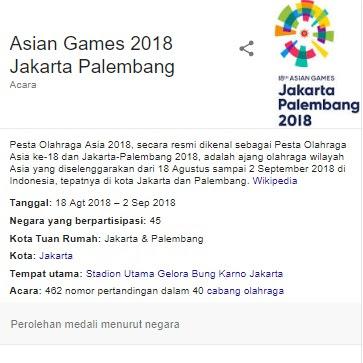 "Semarak ""Beautifying Indonesia"" Pada Helatan #AsianGames2018!"""