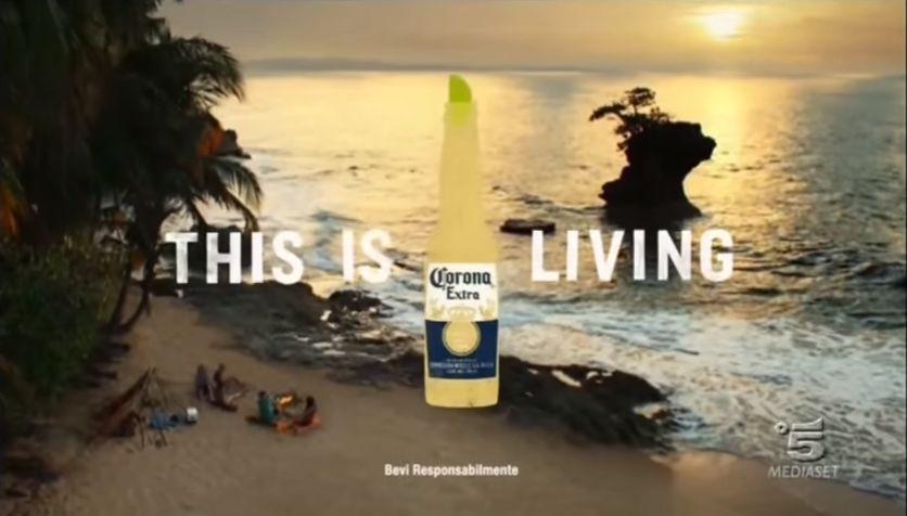 Canzone Birra Corona Pubblicità Extra 2017 This is living, Spot Agosto 2017
