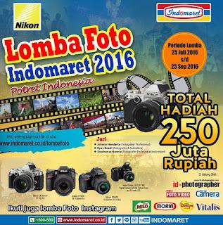 Lomba Foto Indomaret 2016 Potret Indonesia Total Hadiah 250 Juta