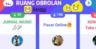 Aplikasi HAGO merupakan aplikasi dimana didalamnya terdapat aneka macam game atau perma Tips Supaya Ruang Obrolan Hago Ramai