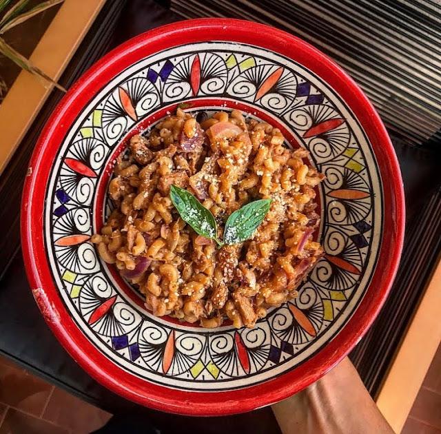 Pâtes au thon oignon rouge et basilic charlotte and cooking