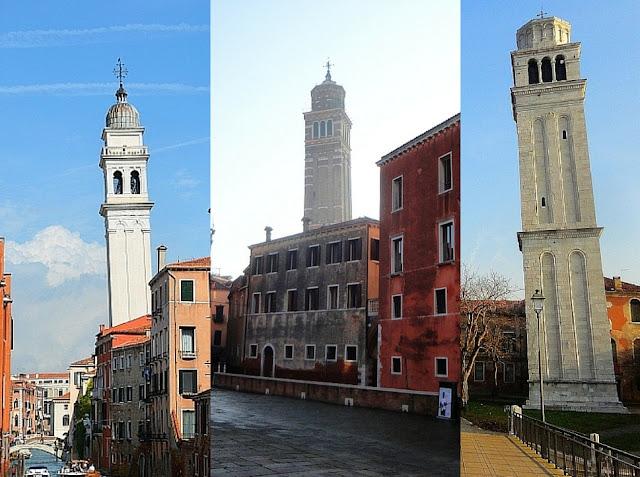 Kolik je zvonic v Benátkách? San Marco, Benátky, zajímavosti v Benátkách