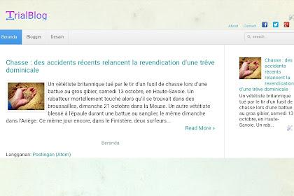 Cara membuat menu navigasi blog plus kotak pencarian responsif