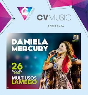 Daniela Mercury no Multiusos de Lamego