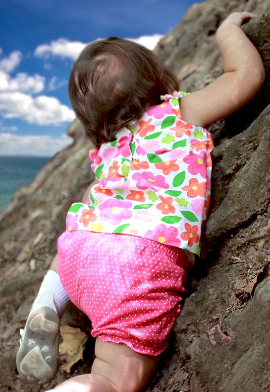 Gallery Funny Game View 30 Month Old Rock Climbing Baby