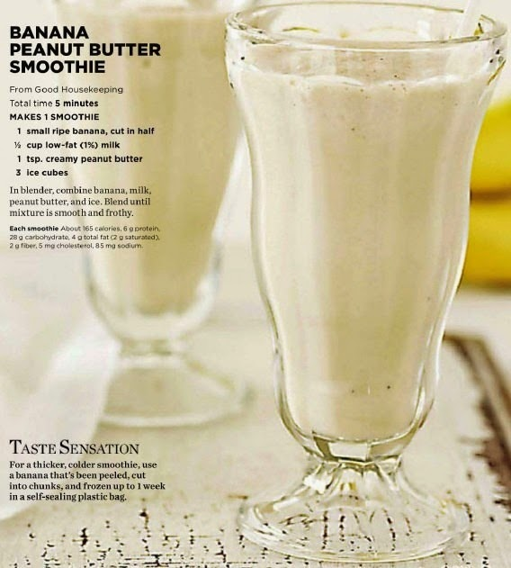 hover_share weight loss - banana peanut butter smoothie