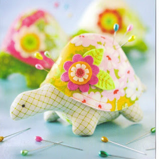 cara membuat boneka flanel kura-kura