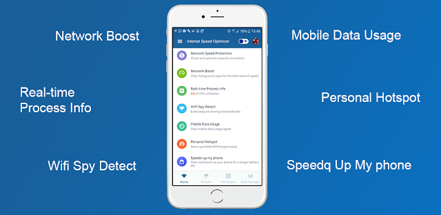 The #1 Android App : Check Internet Speed Optimizer