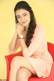 Rukshar Mir in a Peachy Deep Neck Short Dress 083.JPG