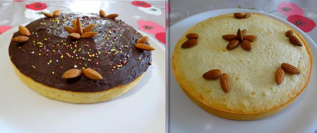 dessert pâtisserie gâteaux moelleux aux blancs d'œufs et aux amandes
