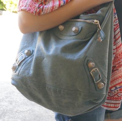 AwayFromTheBlue | Balenciaga tempete day bag