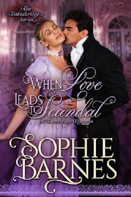 Unwrapping a Guest Review by Connie Fischer of WHEN LOVE LEADS TO SCANDAL, a Townsbridges novel by Sophie Barnes