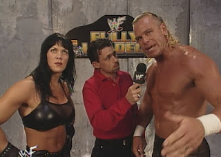 WWE / WWF Fully Loaded 1999 - Michael Cole interviews Chyna and Billy Gunn