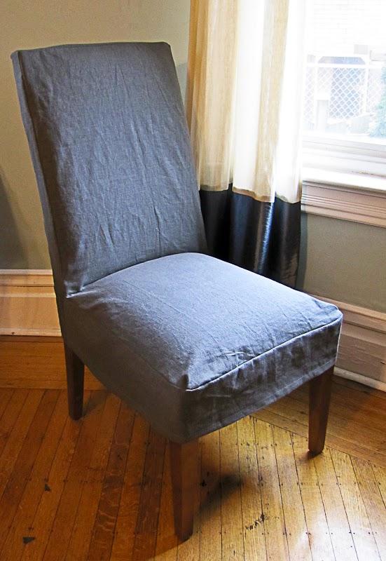Reposhture Studio Parsons Chair Slipcovers