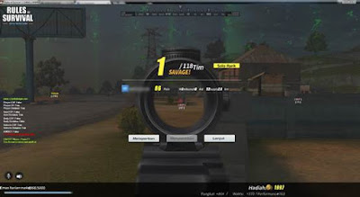 Pekalongan Community Update Cit BS Terbaru Bulan November  23 Februari 2018 - Analin 7.0 Telekill/Teleport Kill SG Weapon + Aimbot 75% Now Is Better! Range 200 Meter + ESP, Cheats Wallhacks, Chams, No Recoil Crosshair, No Grass, Super Jump, Anymore Cheats Rules of Survival PC Windows Download