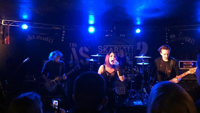 Skarlett Riot live at Asylum 2 in Birmingham
