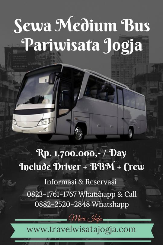 Sewa Medium Bus Pariwisata  di Yogyakarta