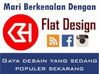 "Berkenalan dengan ""Flat Design"" yang Sedang Populer"